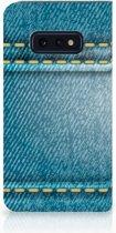 Samsung Galaxy S10e Standcase Hoesje Design Jeans