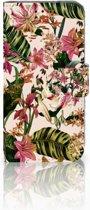 Samsung Galaxy S10e Uniek Boekhoesje Flowers