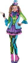 Junior Costume Sassy Mad Hatter Size L