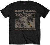 Black Sabbath - Sabbath Bloody Sabbath Vintage heren unisex T-shirt zwart - XL