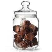Luminarc Club Snoeppot - Glazen Voorraadpot met glazen deksel - Afsluitbaar - 2 liter