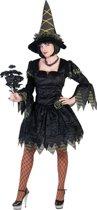 Vampieren & Heksen kostuum | Dark Lady | Vrouw | Maat 40-42 | Carnaval kostuum | Verkleedkleding