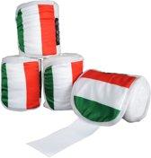 Polarfleecebandages -Flags- Set van 4 Vlag Italie 300 cm