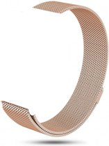 123Watches.nl Fitbit charge 3 milanese band - rose goud - ML