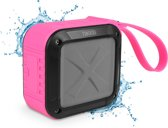 Nikkei BOXX1PK Waterbestendige Bluetooth speaker - Roze