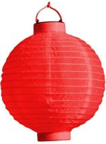 PartyXplosion - Lampion met LED - Assortie - 20cm
