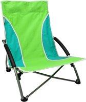 Strandstoel - Kampeerstoel - Visstoel - Campingstoel - Inklapbaar - Aluminium | Groen
