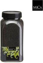 3 stuks Zand zwart fles 1 kilogram
