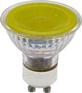 SPL reflectorlamp LED geel 230V 5W (vervangt 50W) GU10 50mm
