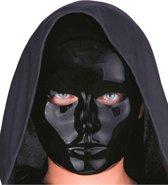 Zwart masker voor volwassenen - Verkleedmasker