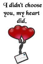 I Didn't Choose You, My Heart Did