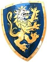 Ridderschild - Nobele Ridder - Blauw