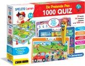 Clementoni - Spelend leren - De pratende pen - 1000 Quiz