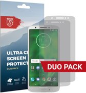 Rosso Motorola Moto G6 Ultra Clear Screen Protector Duo Pack
