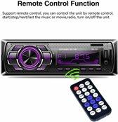 autoradio 7color LCD 12V Bluetooth FM-ontvanger met AUX SD USB MP3 MMC WMA autoradio-speler + snel opladen