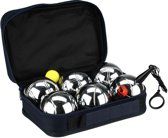 Get And Go Jeu De Boules Set 6 Ballen L Chroom