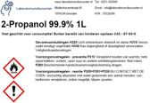 isopropyl / isopropanol / 2-propanol 99.9% 1L
