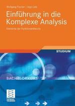 Einf hrung in Die Komplexe Analysis