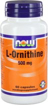 Now L-Ornithine 500 mg Capsules 60 st