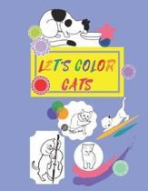 Let's Color Cats
