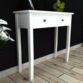 Sidetable Wit (Incl Dienblad) / woonkamer tafel/ slaapkamer tafel / salontafel / wandtafel / Decoratietafel