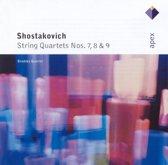 Shostakovich String Quartets nos 7, 8, 9 / Brodsky Quartet