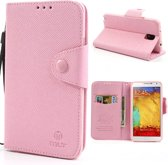 MLT Wallet Case Samsung Galaxy Note 3 Pink