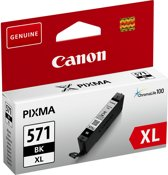 Canon CLI-571XL - Inktcartridge / Zwart / Hoge Capaciteit