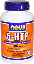 Now Foods - 5-HTP - 100 mg - 120 Vcaps