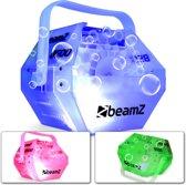 Bellenblaasmachine - BeamZ B500LED bellenblaasmachine met kleurrijke behuizing