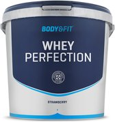 Body & Fit Whey Perfection - Eiwitpoeder / Eiwitshake - 4540 gram - Strawberry Milkshake