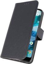 Nokia 8.1 Zwart | bookstyle / book case/ wallet case Wallet Case Hoesje  | WN™