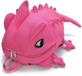 3D dieren rugzak dinosaurus vorm cartoon school tassen tiener schooltas (roze)