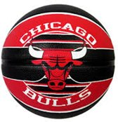Basketbal Spalding- Outdoor - Chicago Bulls - Maat 7
