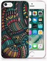 iPhone SE | 5S TPU Hoesje Design Aztec