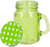 Mini deco potje groen 120 ml