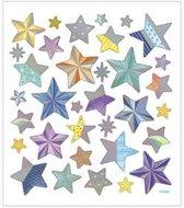 Stickers vel 15x16 5 cm 33 stuk sterren 1vel