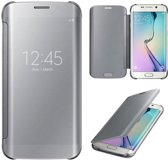 Clear View Cover voor Galaxy S6 _ Zilver