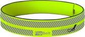 FlipBelt Reflective - Running belt - Geel - XS