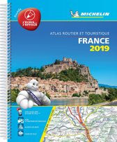 France 2019 -Tourist & Motoring Atlas A4 Laminated Spiral