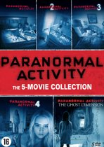 Paranormal Activity 1 t/m 5 Boxset