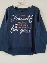 Tiffosi-meisjes-shirt,longsleeve-Cassie-kleur: blauw-maat 104