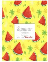 Notebook Cute Summer Pattern with Watermelon