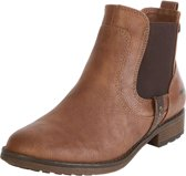 Mustang Cognac Boots  Dames 38