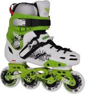 Tempish Cronos Freestyle Skates Groen/wit Maat 39