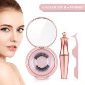Luxe Magnetische Eyeliner & Wimper Set - Nepwimpers - 3D Magnetische Wimpers - Wimperextensions