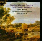Stanford, Finzi: Clarinet Concertos / Thea King, Alun Francis, Philharmonia