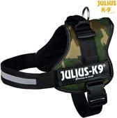 Julius K9  Powertuig/Harnas - Maat 3/82-115cm - XXL - Army