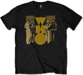 The Who - Yellow heren unisex T-shirt zwart - L