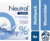 Neutral Waspoeder Wit Parfumvrij 45 Wasbeurten Voordeelverpakking